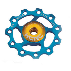 KCNC Jockey Wheel 11T Ceramic Bearing blau